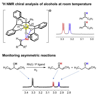 A Gallium Based Chiral Solvating Agent Enables The Use Of 1h Nmr