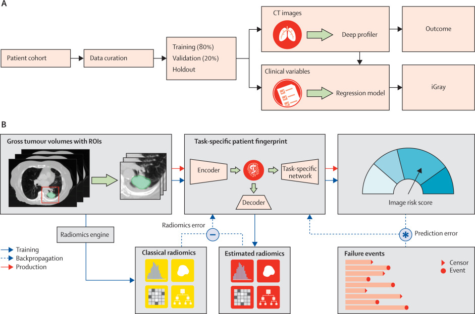 An image-based deep learning framework for individualising