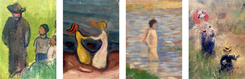 Abstract Depiction Of Human Figures In Impressionist Art And Children S Picture Books Sciencedirect
