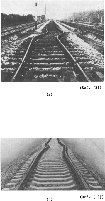 LATERAL BUCKLING OF RAILROAD TRACKS DUE TO CONSTRAINED