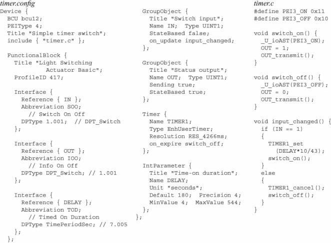An Open Approach To Eib Knx Software Development Sciencedirect