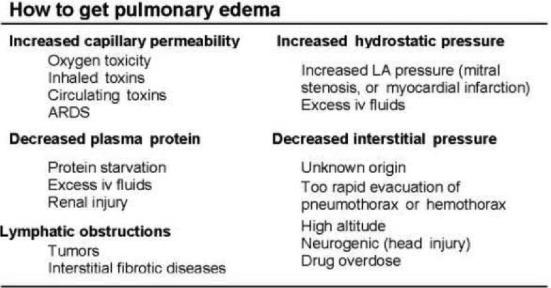 Pulmonary Edema An Overview Sciencedirect Topics