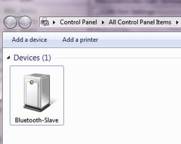 Java Bluetooth Server Example