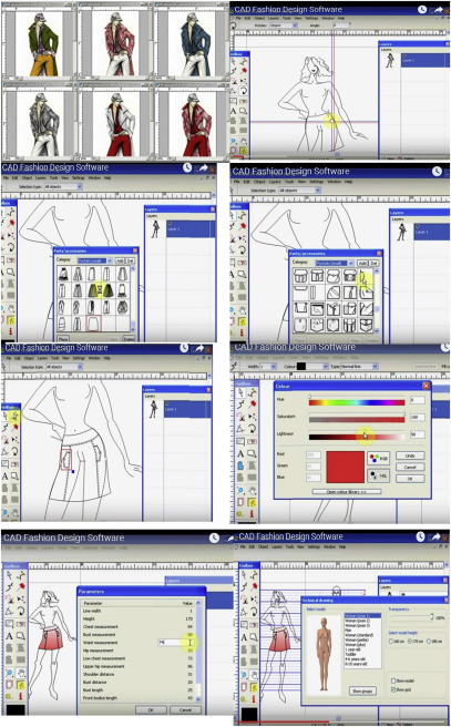 Computer Aided Design Garment Designing And Patternmaking Sciencedirect