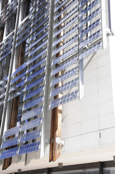 Photovoltaic City: Effective Approaches to Integrated Urban