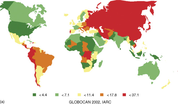Trends of Mortality Rates from Gastric Cancer and ... - ResearchGate