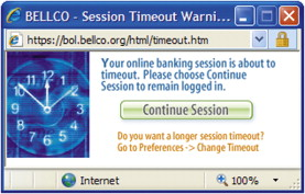 Session Timeout - an overview | ScienceDirect Topics