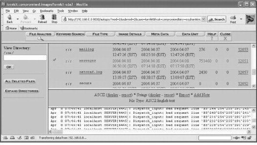 UNIX Forensic Analysis - ScienceDirect