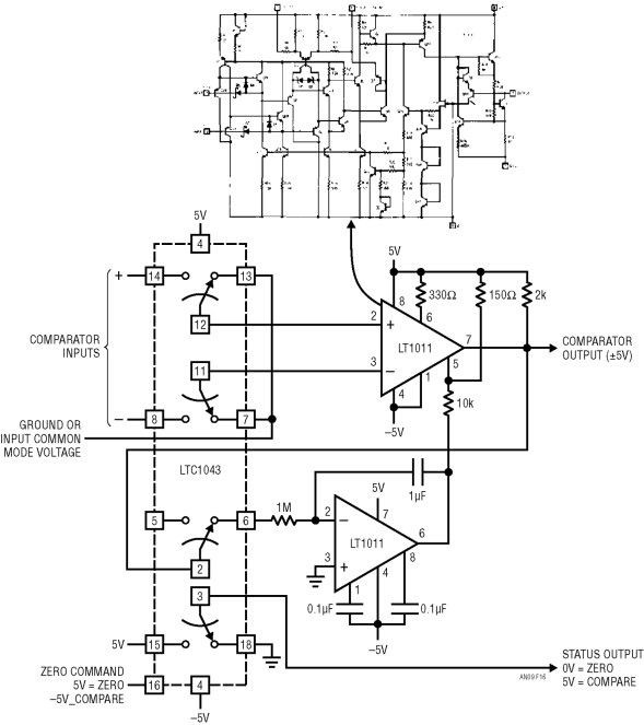 Comparator Circuits - an overview | ScienceDirect Topics