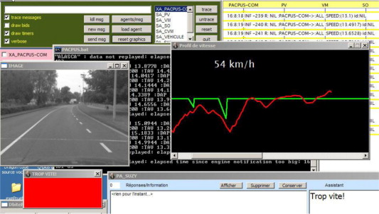 Multi-Agent Active Collaboration Between Drivers and