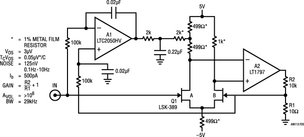 Stabilized Amplifier - an overview | ScienceDirect Topics