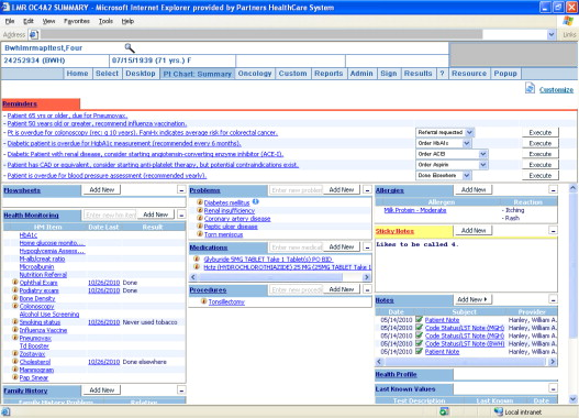 patient care information system