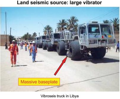 Seismic vibrator geometric pics 288