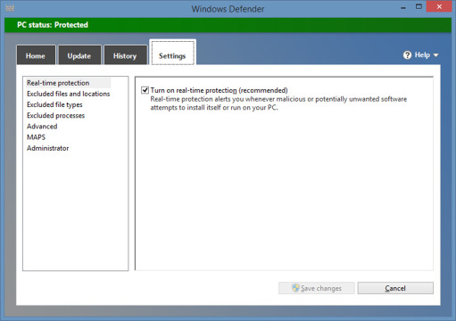 Windows Defender - an overview | ScienceDirect Topics