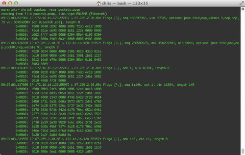 Tcpdump an overview