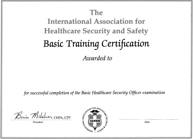 iahss supervisor training manual