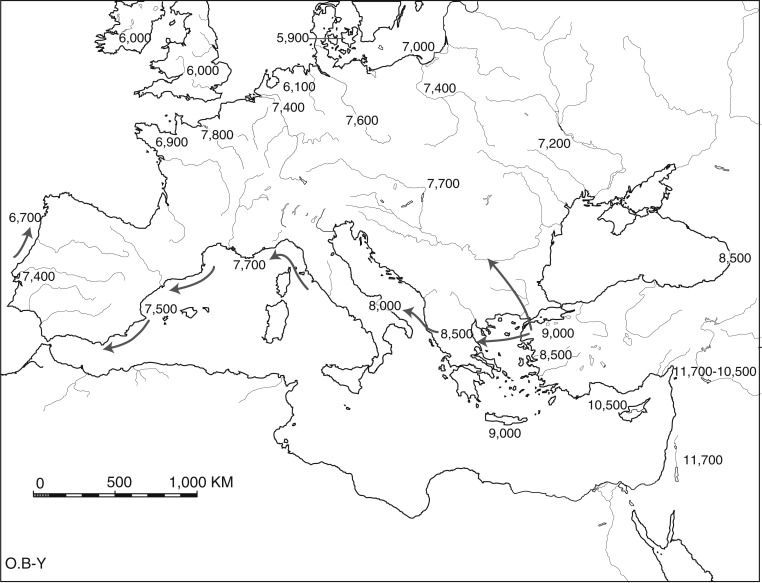 Multiple Origins Of Agriculture In Eurasia And Africa
