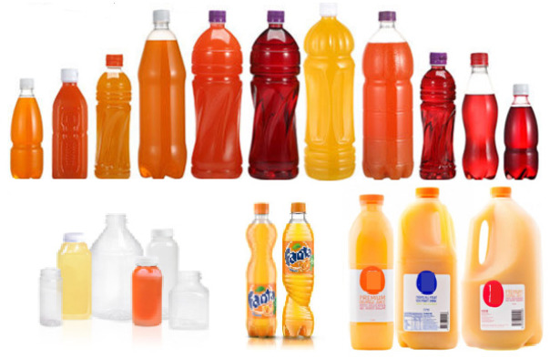 storage in polyethylene terephthalate bottles changes and shelf