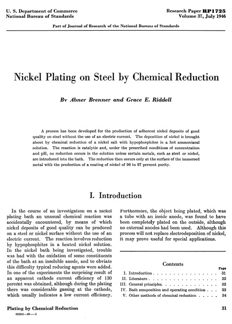 electroless plating - an overview | ScienceDirect Topics