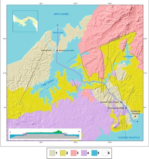 Isthmus - an overview | ScienceDirect Topics on island peninsula map, cape peninsula map, lake peninsula map, malay kra peninsula map, panama canal map,