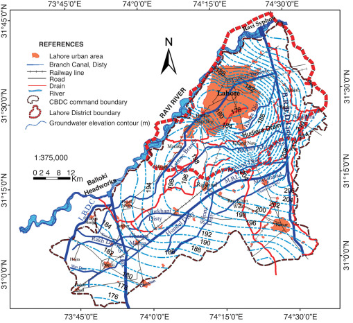 Groundwater Environment in Lahore, Pakistan - ScienceDirect