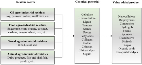 Agro-Industrial Residues and Microbial Enzymes: An Overview