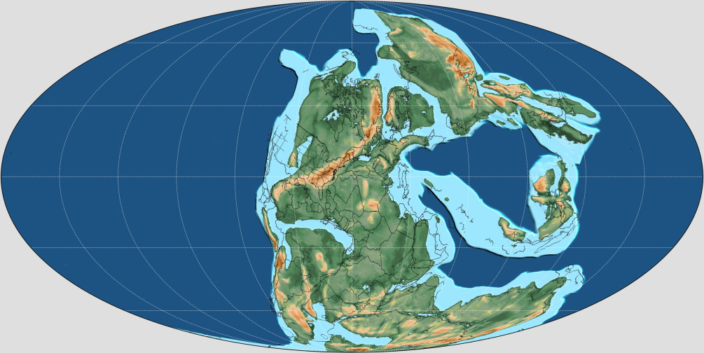 Late Permian-Early Jurassic Paleogeography of Western Tethys and the ...