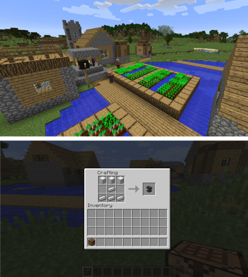 Playing With Virtual Blocks: Minecraft as a Learning