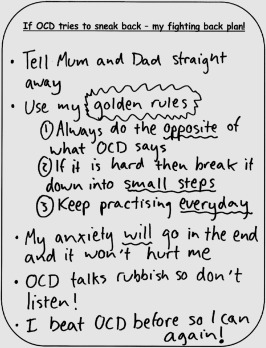 Relapse Prevention Strategies for Young People With OCD