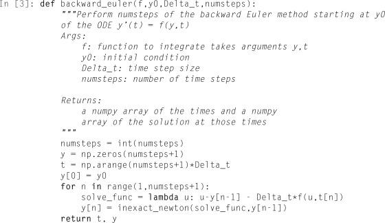 Euler Backward Method - an overview | ScienceDirect Topics