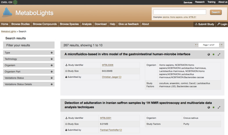 Big Data and Databases for Metabolic Phenotyping - ScienceDirect