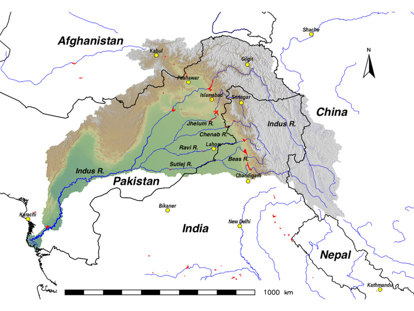 Water Resources Forecasting Within the Indus River Basin: A Call for on krishna river on map, aral sea on map, irrawaddy river on map, japan on map, persian gulf on map, deccan plateau on map, jordan river on map, himalayan mountains on map, bangladesh on map, kashmir on map, gulf of khambhat on map, gobi desert on map, ganges river on map, indian ocean on map, himalayas on map, yellow river on map, great indian desert on map, yangzte river on map, eastern ghats on map, lena river on map,