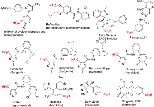 Difluoromethyl Group - an overview | ScienceDirect Topics