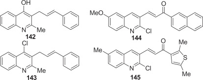 Natural and synthetic quinoline molecules against tropical parasitic