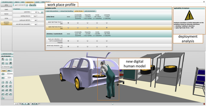 Task Based Digital Human Simulation With Editor For Manual Work Activities Industrial Applications In Product Design And Production Planning Sciencedirect