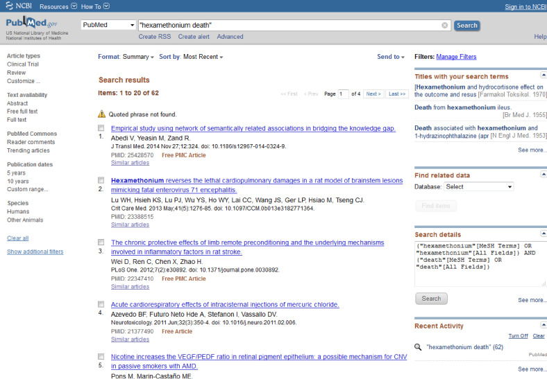Information resources for the clinical researcher sciencedirect.