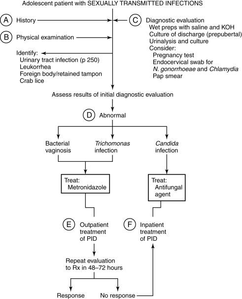 Chlamydial cervicitis in pregnancy