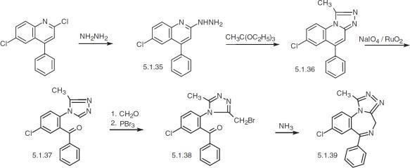 how is the alprazolam high