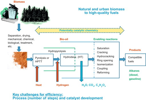 Catalytic Hydrotreatment of Bio-Oils for High-Quality Fuel