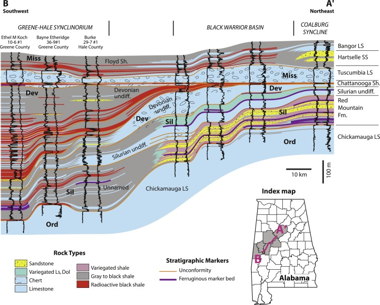 The Appalachian and Black Warrior Basins: Foreland Basins in
