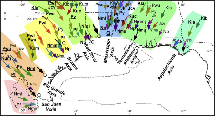 Evolution of the Northern Gulf of Mexico Sedimentary Basin