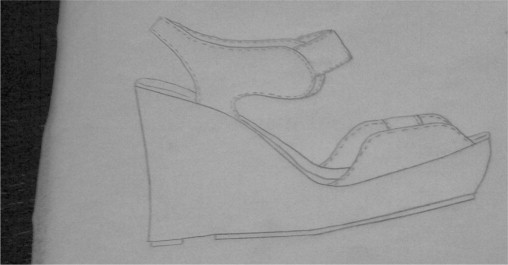 Footwear Drawing Templates And Shoe Design Sciencedirect