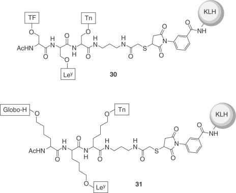 Chemical Synthesis Of Carbohydrate Based Vaccines Against Cancers