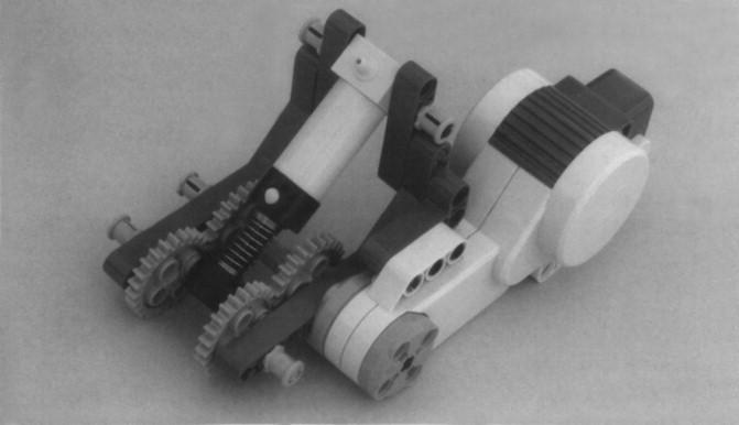 Một máy nén sử dụng máy bơm lớn