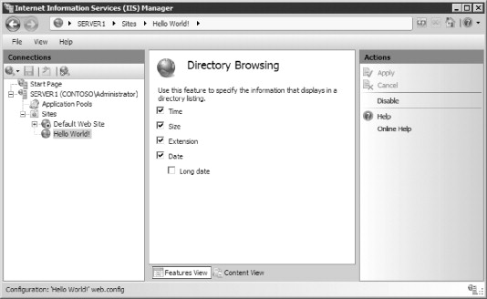 Directory Browsing - an overview | ScienceDirect Topics