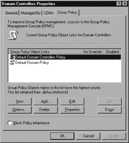 group policy management download