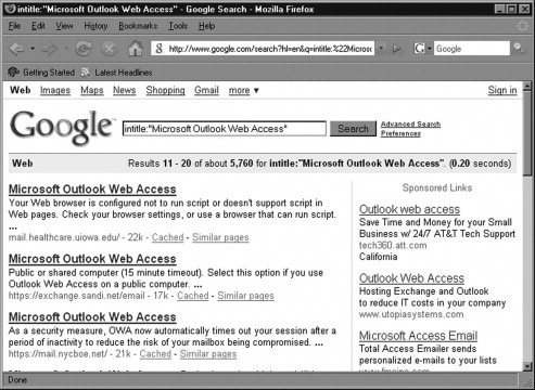 Google Hacking - an overview | ScienceDirect Topics