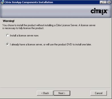 Crack citrix xenapp license