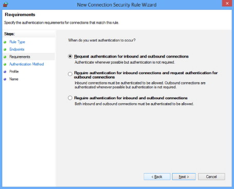Connection Security Rule - an overview   ScienceDirect Topics