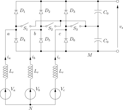 Three-Phase Rectifier - an overview | ScienceDirect Topics on surge protector, switched-mode power supply, boost converter, 3 phase power inverter, 3 phase cycloconverter, buck converter, 3 phase switchgear, 3 phase signal, 3 phase sensor, flyback converter, 3 phase washer, 3 phase coil, 3 phase power supply, 3 phase filter, 3 phase voltage, 3 phase converter, phase converter, power inverter, 3 phase ic, uninterruptible power supply, circuit breaker, 3 phase ac, 3 phase cable, voltage multiplier, variable-frequency drive, 3 phase motor, silicon controlled rectifier, 3 phase blender, 3 phase contactor, 3 phase wire, 3 phase current, 3 phase socket, dc-to-dc converter, electrical ballast, voltage doubler,